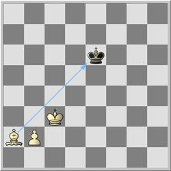 šah lovcem